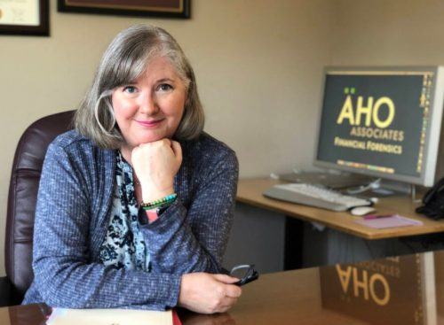 Leader Of Sonoma's Aho & Associates Financial Forensics Wins North Bay Women In Business Award
